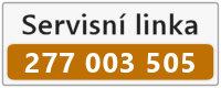 Servisní linka 277 003 505